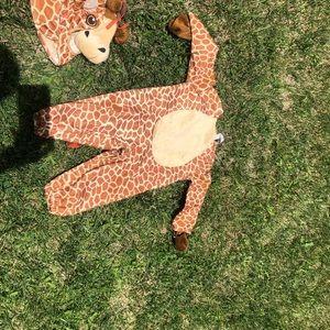 Other - Giraffe toddler Halloween costume